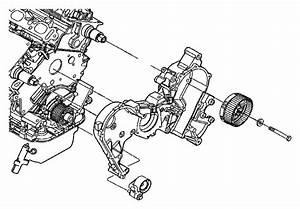 2011 Dodge Nitro Cover  Timing Case  Inner  Engine  Belt