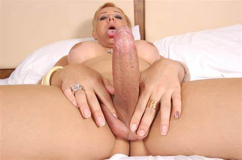 Tranny Craves For A Monster Penis wal49