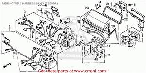 1986 Honda Gl1200 Aspencade Goldwing Wiring Diagram
