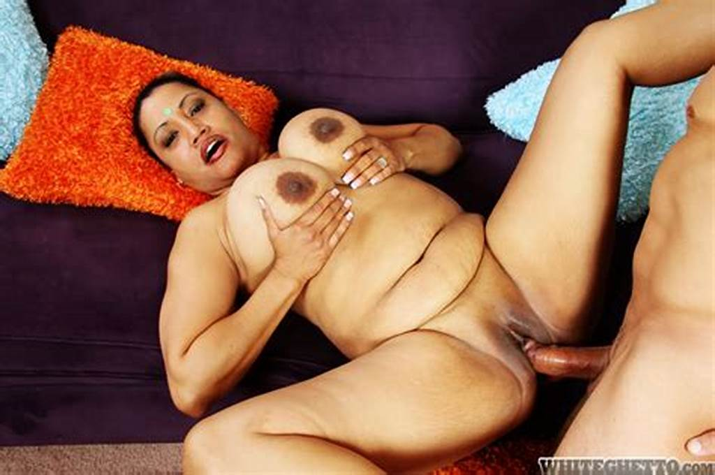 #Fatty #Indian #Milf #With #Massive #Jugs #Gives #A #Blowjob #And