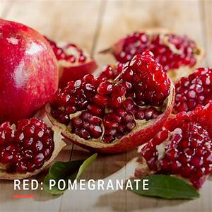 eat a rainbow palette this winter pomegranate health