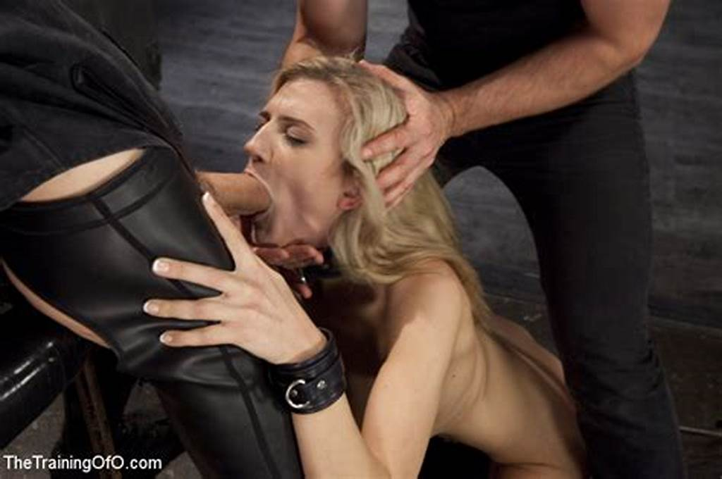 #Amanda #Tate #Gets #On #Her #Knees #And #Is #Bondage #Tied #With