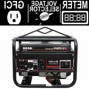Portable Gasoline Generator 4000 Watt Emergency Power Source