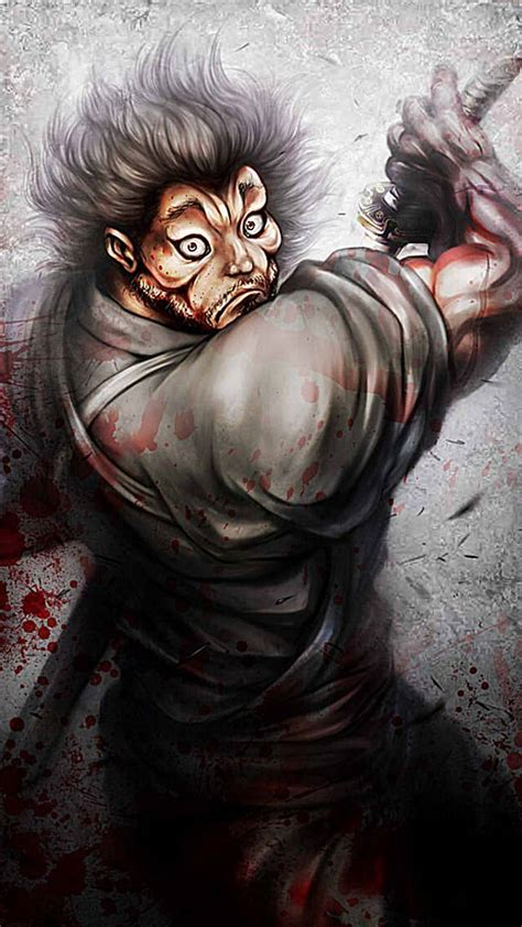 Start your search now and free your phone. Baki The Grappler Phone Wallpapers - Wallpaper Cave