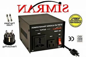 100 Watt 110v To 220v Transformer Voltage Converter
