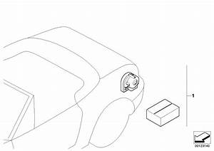 2004 Bmw Z4 Installation Kit Alarm System  Sensor