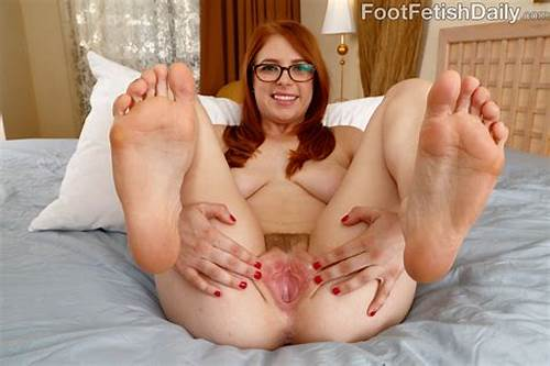 Penny Pax Fucking A Load On Her Bush #Hot #Redhead #Wraps #Her #Sexy #Feet #Around #A #Black #Cock