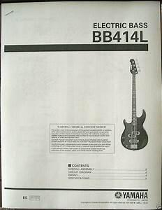 Yamaha Electric Bas Guitar Wiring Diagram