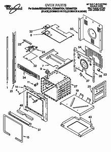 Whirlpool Rbd306pdb4 Electric Wall Oven Parts