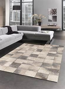 Tapis Beige Salon : tapis geometrique pour salon elegant 02 beige ~ Teatrodelosmanantiales.com Idées de Décoration