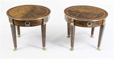 Free shipping on many items. Regent Antiques - Coffee tables - Pair of French Empire Style Burr Walnut Coffee Tables