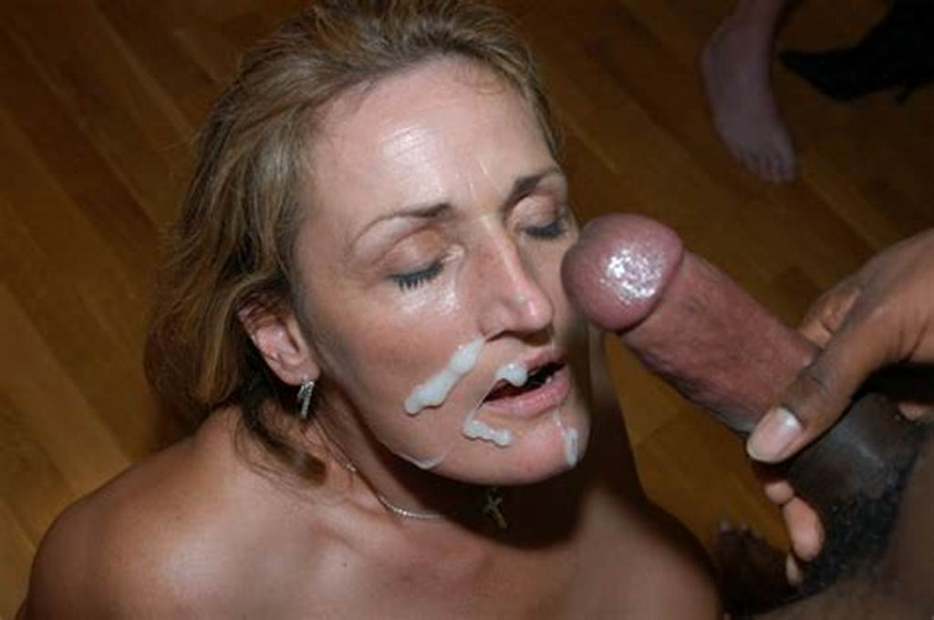 #Mature #Slut #& #Three #Girls #Take #Facials
