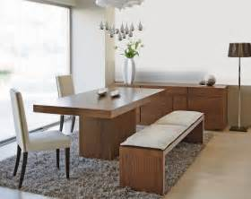 dining room table with bench seat homesfeed With dining room table bench seats