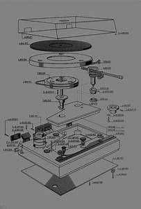 Vinyl Turntable Diagram