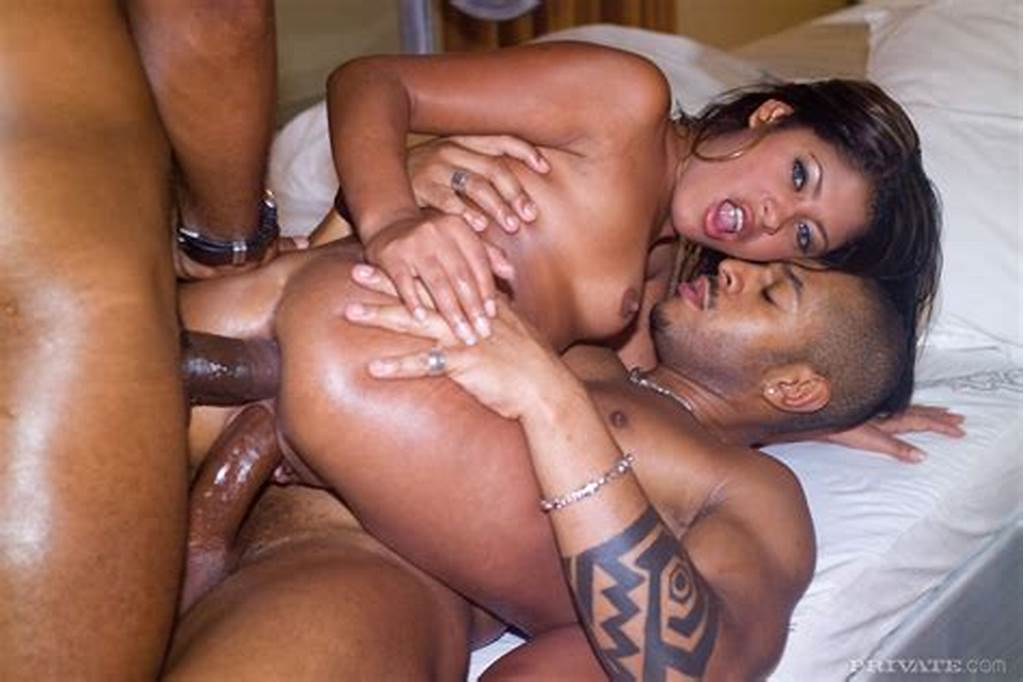 #Brazilian #Beauty #Fucked #In #All #Holes #In #Anal #Threesome