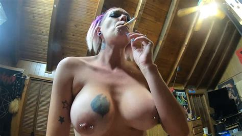 Brunette Pov Smoking Blowjob