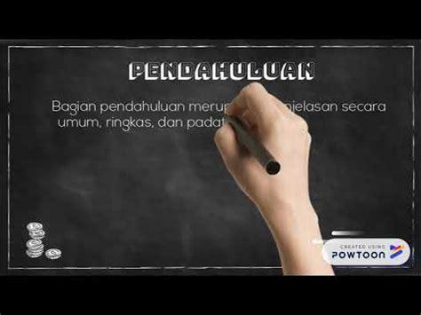Sistematika Penulisan Karya Tulis Ilmiah - YouTube