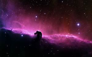 purple distant galaxy stars wallpapers high definition ...