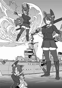 Tenryuu, Tatsuta, And, Female, Admiral, Kantai, Collection, Drawn, By, Mikoyan