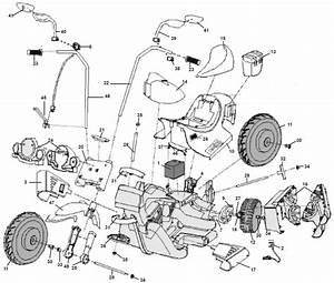 Power Wheels Harley Cruiser Parts