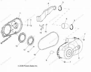 Polaris Side By Side 2008 Oem Parts Diagram For Drive