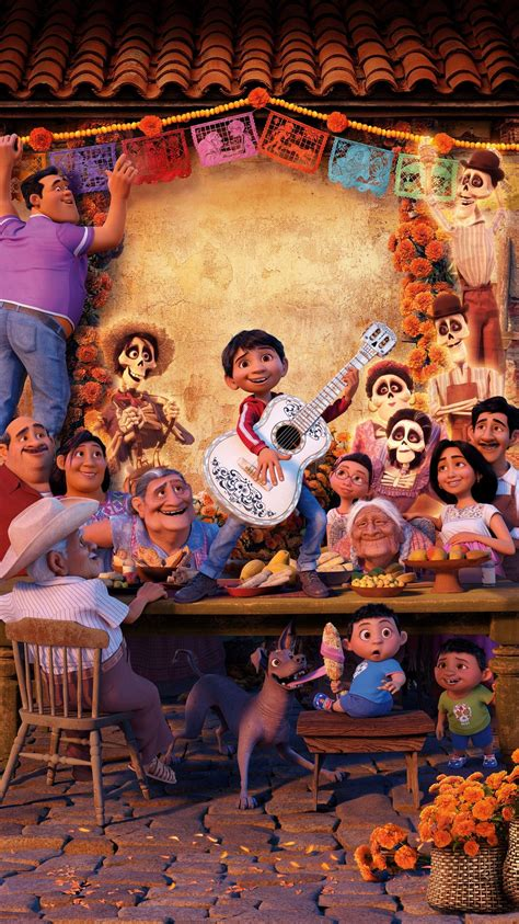 Coco had hilarious and sad moments throughout as miguel meets héctor who agrees to help him. Coco Pixar Wallpapers - Top Free Coco Pixar Backgrounds - WallpaperAccess