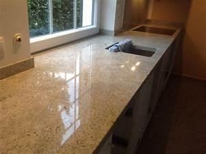 Bonn kashmir white granit arbeitsplatte for Granitarbeitsplatte