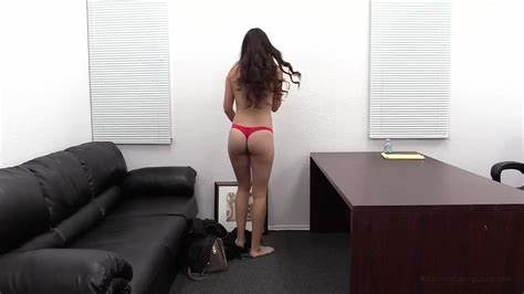 Superhot English Cutie On The Casting Couch