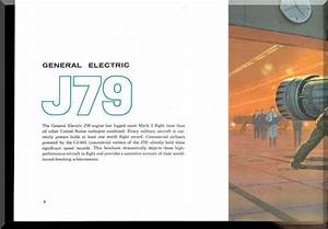 Ge J79 Aircraft Turbo Jet Engine Technical Brochures
