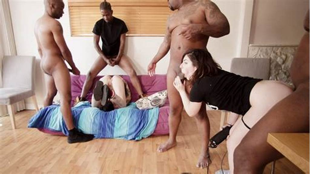 #Interracial #Gangbang #Tryouts #Volume #1