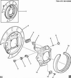 Chevrolet Trailblazer Brake  Parking Brake Apply  Brake