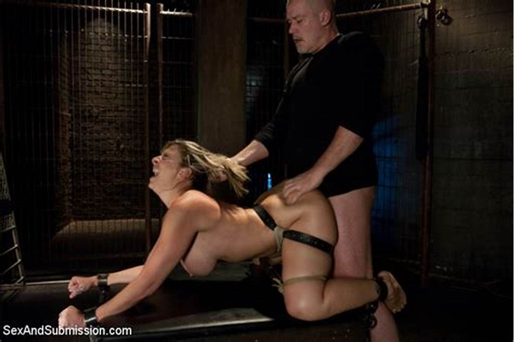#Curvaceous #Milf #Slave #Sara #Jay #With #Huge #Tied #Up #Boobs
