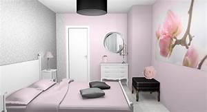 emejing chambre adulte beige et rose poudre gallery With couleur de chambre adulte