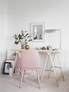 Schreibtisch Dunkles Holz : wandfarbe rosa welche sind die neusten trends f r 2016 ~ Indierocktalk.com Haus und Dekorationen