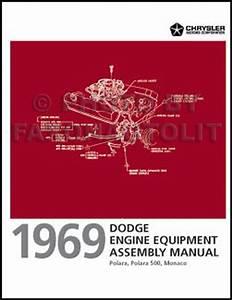 1969 Dodge Polara  U0026 Monaco Repair Shop Manual Original