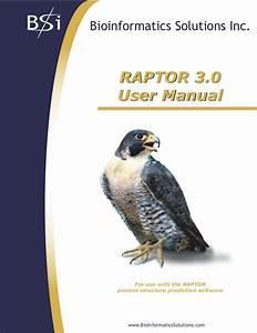 Raptor User Manual3 0