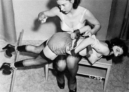 Fetish Corselette And Topless Domme Spanks In The Home #Vintage #Spanking #Porn #For #Throw #Back #Thursday