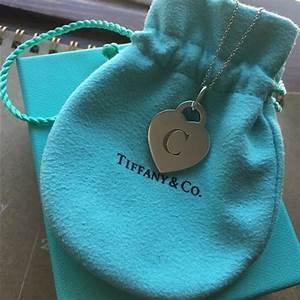 67 off tiffany co jewelry alphabet heart tag letter With alphabet heart tag letter charm and chain tiffany