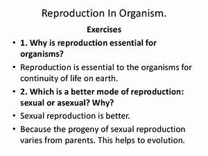 Reproduction In Organism Ncert Question And Answer By