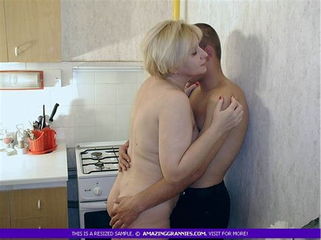 #Fat #Granny #Teases #A #Handsome #Boy #With #Her #Big #Boobs #And