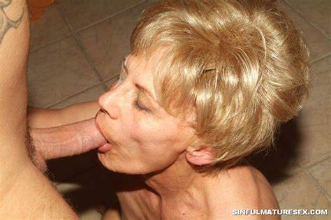Grandma Sloppy Granny Breasty Cumming