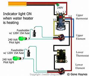 How To Wire Water Heater For 120 Volts