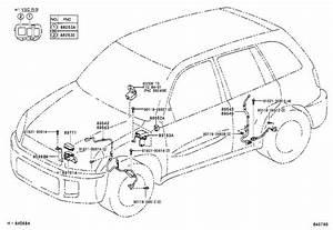 Toyota Rav4 Abs Wheel Speed Sensor Wiring Harness