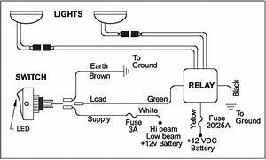 Kc Headlight Wiring Diagram