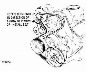 2003 Cadillac Deville Serpentine Belt Diagram