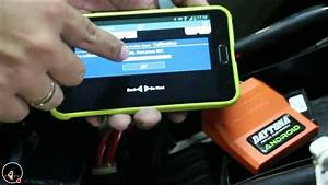 Cara Setting Ecu Daytona Android On New Vixion Nvl  Fz150i