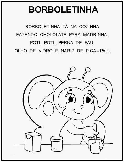 Contact khoisan maxy on messenger. Atividades Educação Infantil: MÚSICA A BORBOLETINHA