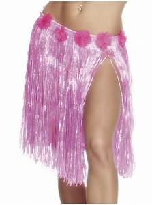 Neon Pink Hawaiian Skirt online at Funidelia