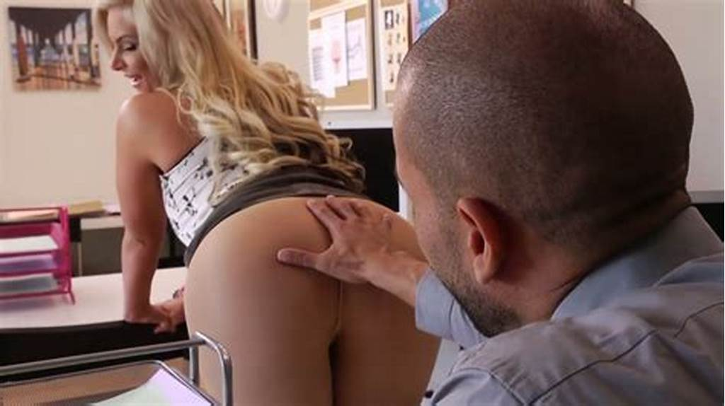 #Busty #Blond #Nympho #Phoenix #Marie #Sucks #Thick #Cock #Of