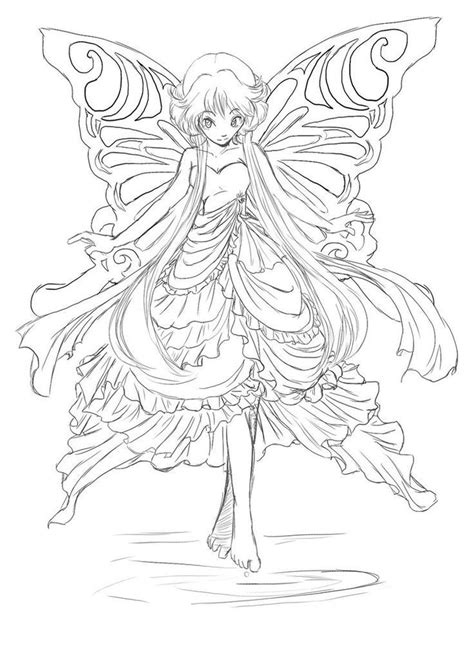 Fairy Coloring Pages ForAnd Adults in 2020 (With